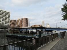 黎明橋と舟着場.JPG