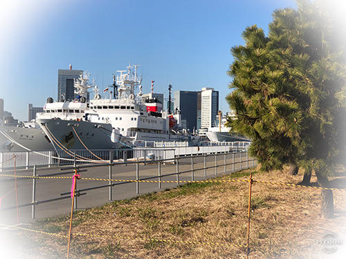 Park of Harumi Wharf and Closed to the Public. jpg
