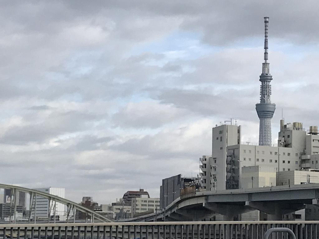 "It is town Nihonbashi Bridge with ""we do not obtain"" in ""it blows"" Ryogoku Bridge - Shin-ohashi Bridge"