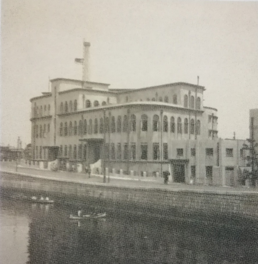 1927 (Showa 2) We move to Kyobashi ward Kobikicho 1929 (Showa 4) Ayumi of the opening Kyobashi library new as compound facility and local reference library  ... center Ward Kyobashi library ...