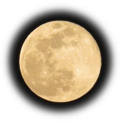 """令和首次的""""超級市場月亮"""""""