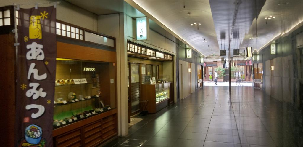 Alley of Ginza: Alley in building