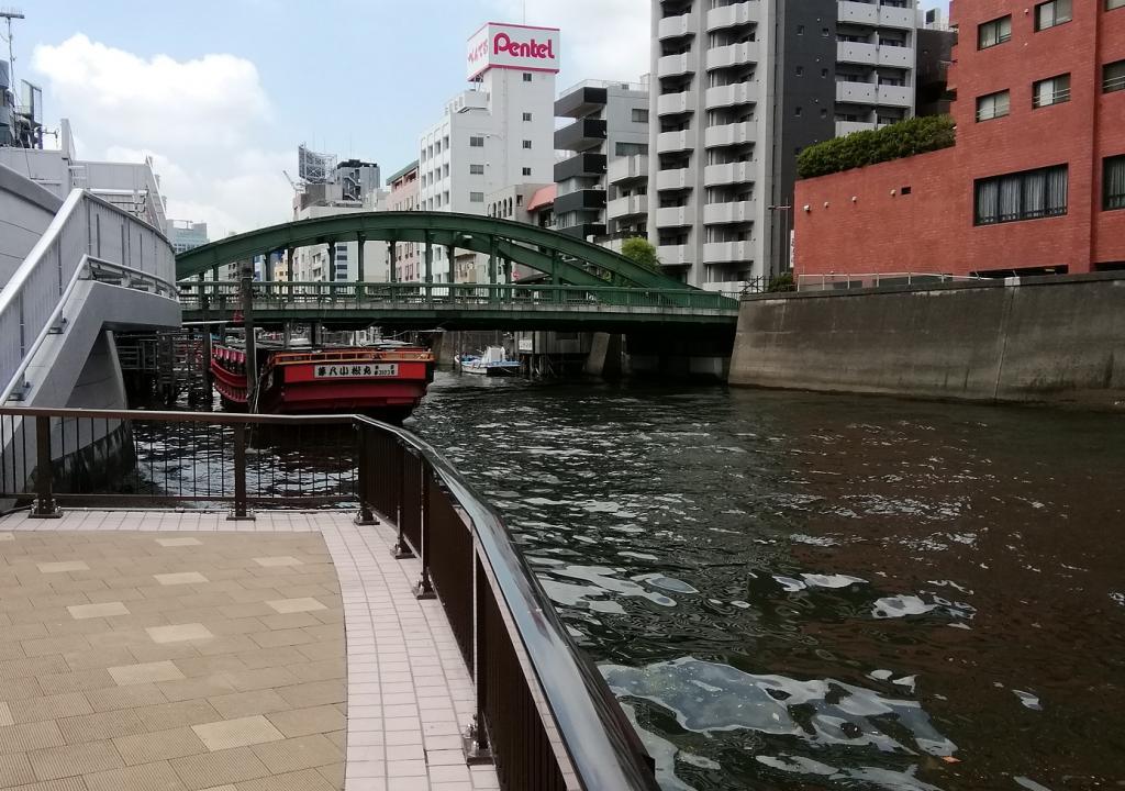 """Newbie"" It is consideration extra ① in ten years   ... Yanagibashi Bridge ..."