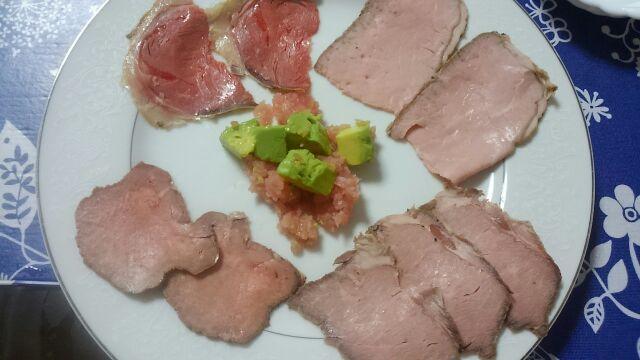 Serve backbone section of a fish of tuna in salad style; and purification of Italian *jisanhohajoinekashinshakaetsu