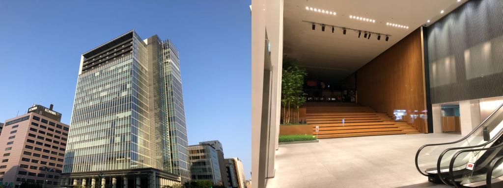 (3) 銀座松竹廣場竣工:被在2002年10月巡遊沿晴海路的角落研吾先生的作品