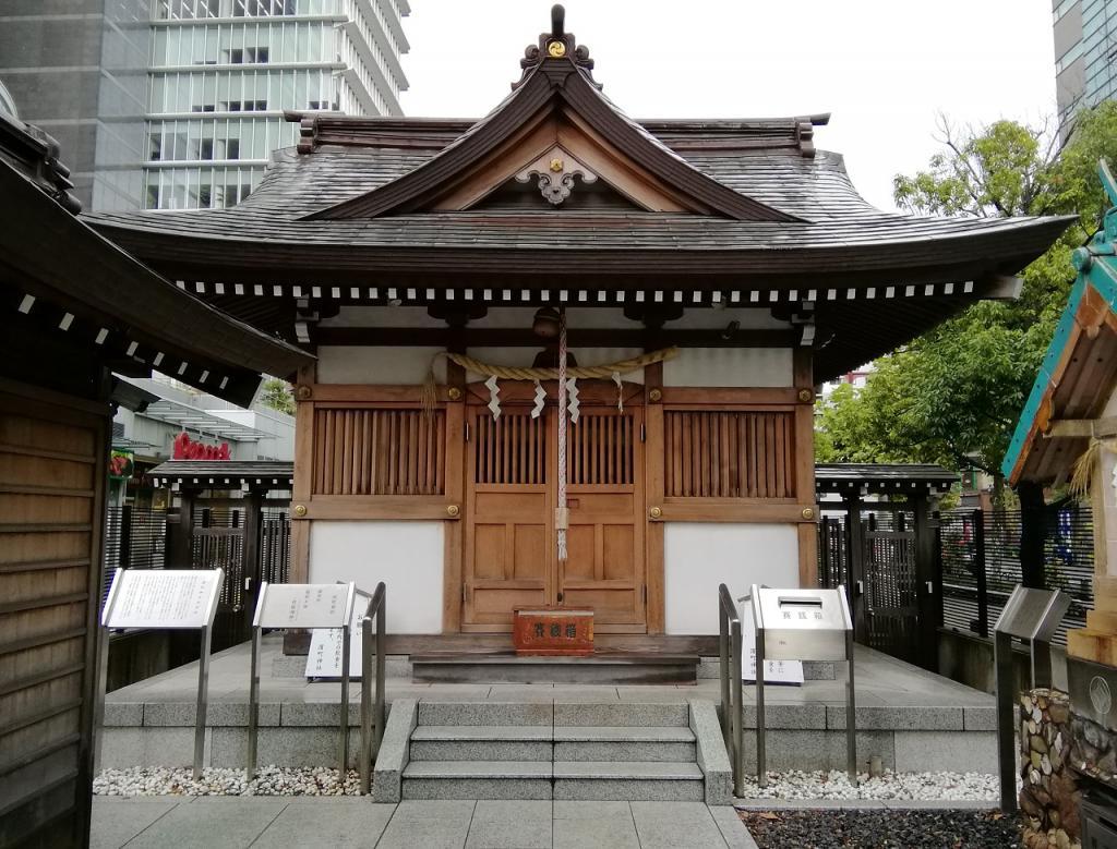 Shinto shrine NO.23 of quiet appearance to be able to go from *choshinshajinkeichoeki  ... *choshinsha