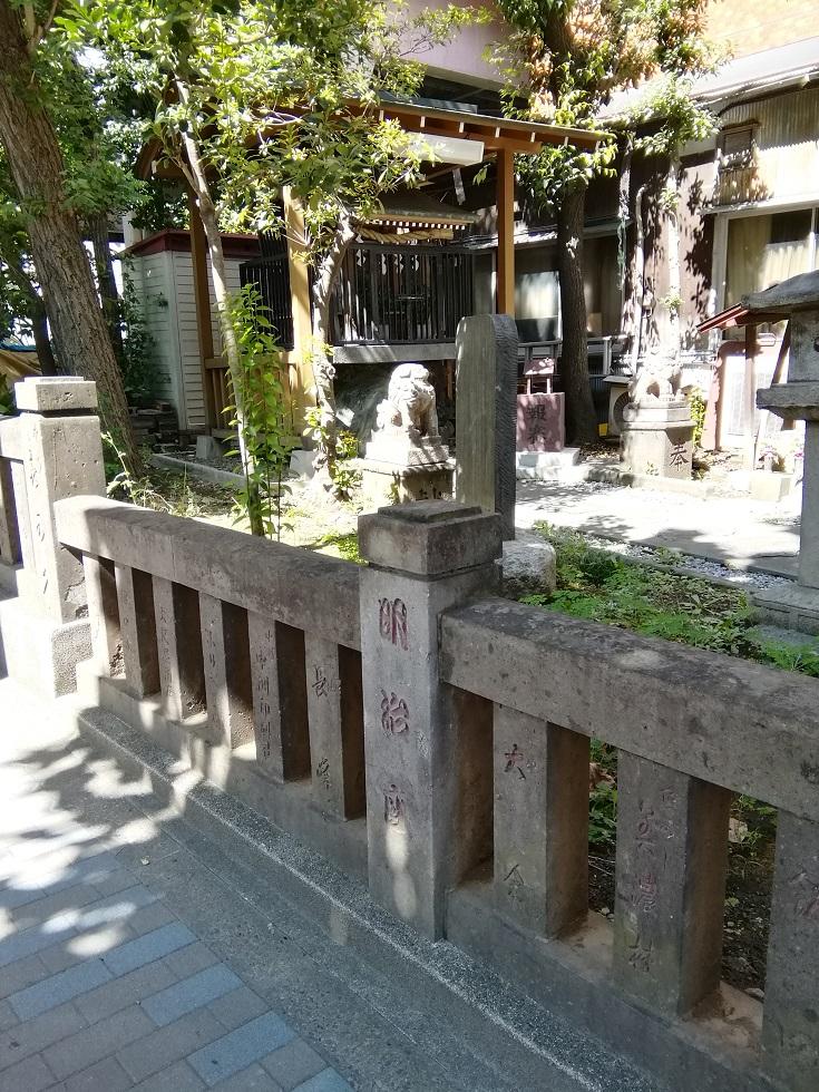 Shinto shrine NO.21 - Kotohira-gu Shrine (Nihonbashinakasu) ... of quiet appearance to be able to go from Ningyocho Station