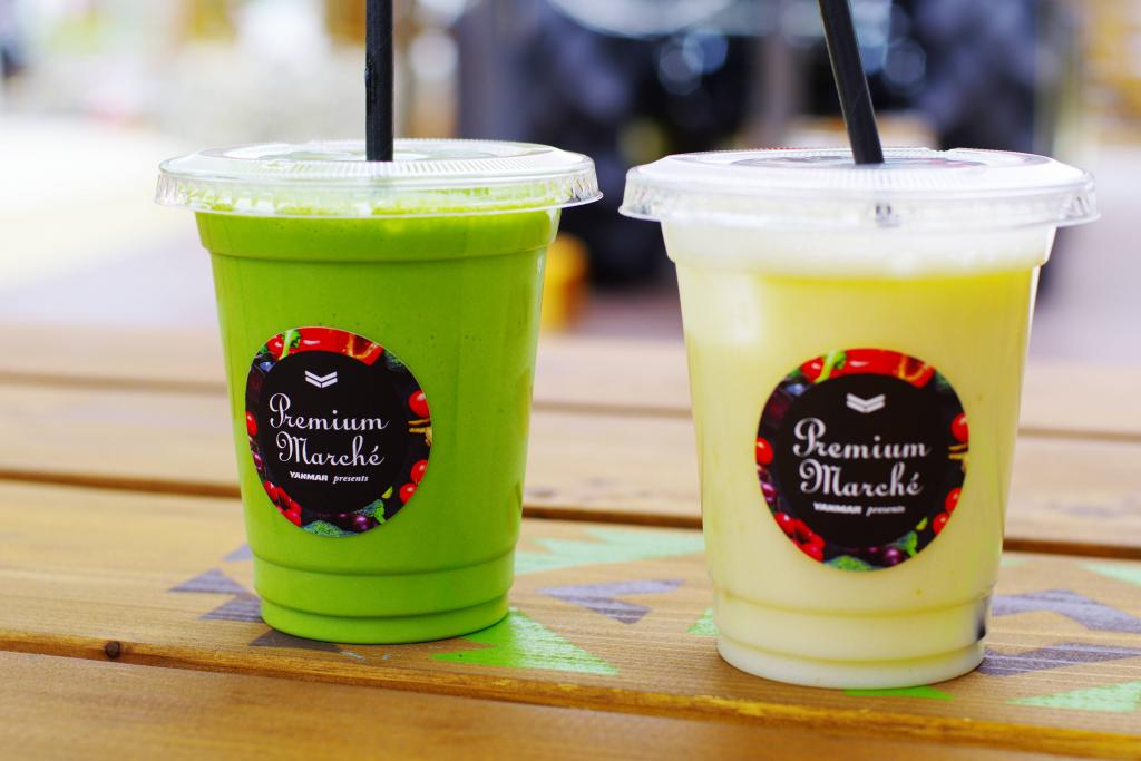 """Smoothie is open for a limited time in """"premium Marchais""""! THE FARM TOKYO"""