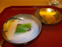 "Original dishes ""*kizu*ryu"" which tastes early summer"